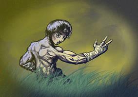 Rock Lee by enemydownbelow