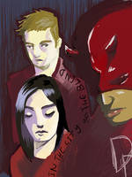 Daredevil by enemydownbelow