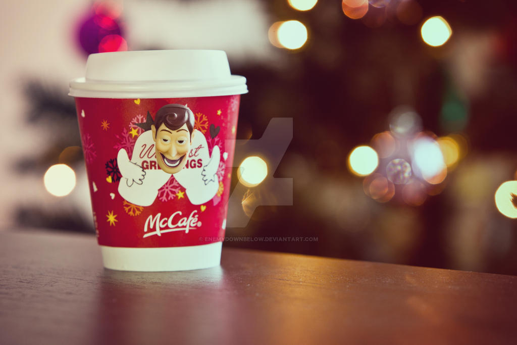 Hot Coffee Merry Christmas by enemydownbelow