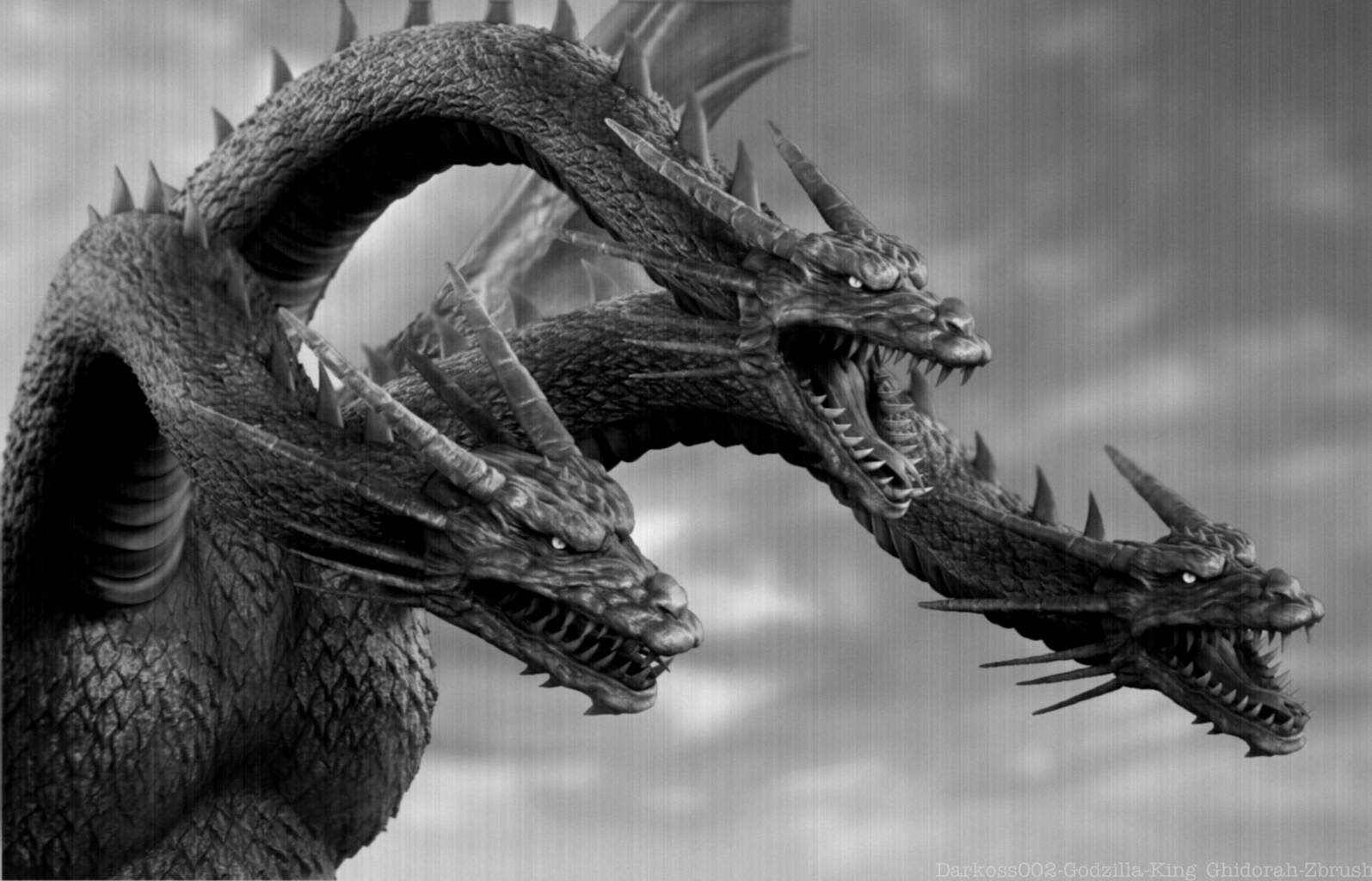 KING GHIDORAH-GODZILLA SERIES-CLASSIC MOVIE by darkoss002 ...