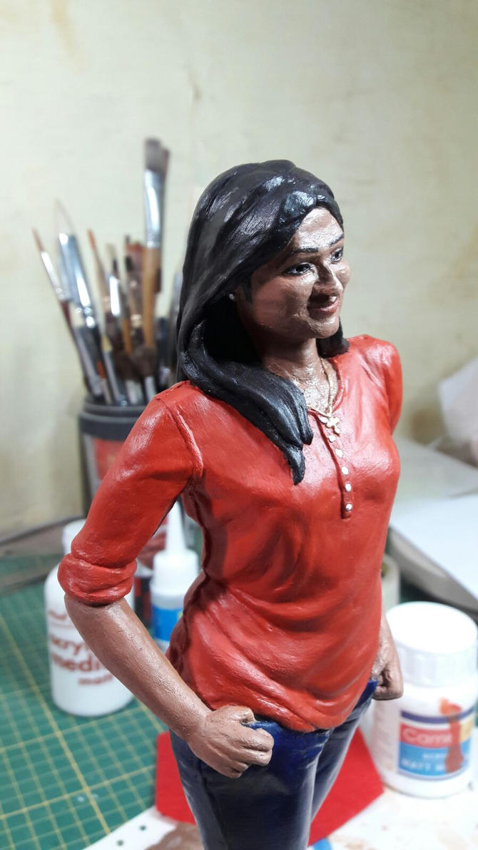 Custom Statue from photos by bad-j