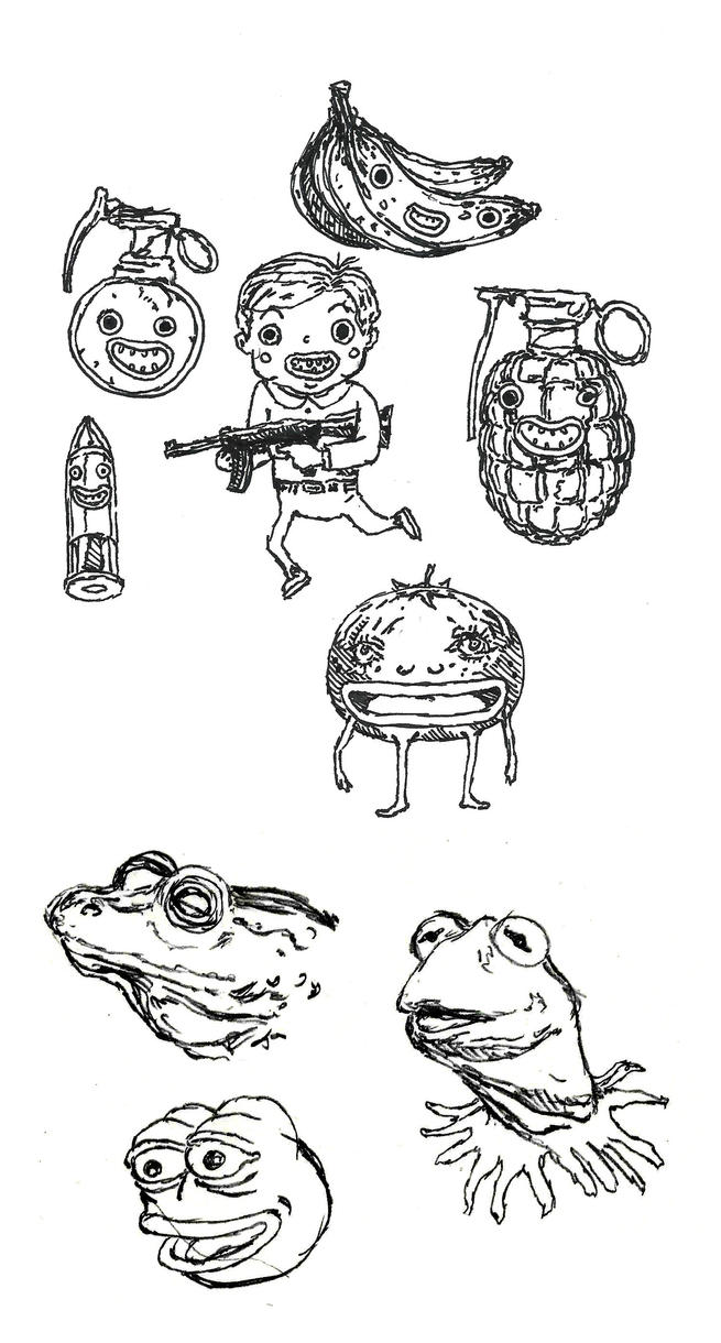 Sketches 1/16/17 by captainrosteck