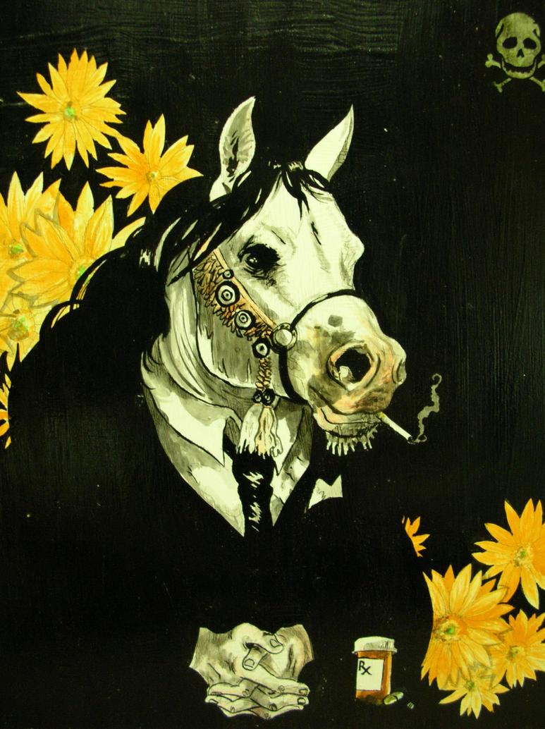 paxil the hypochondriac pony by captainrosteck