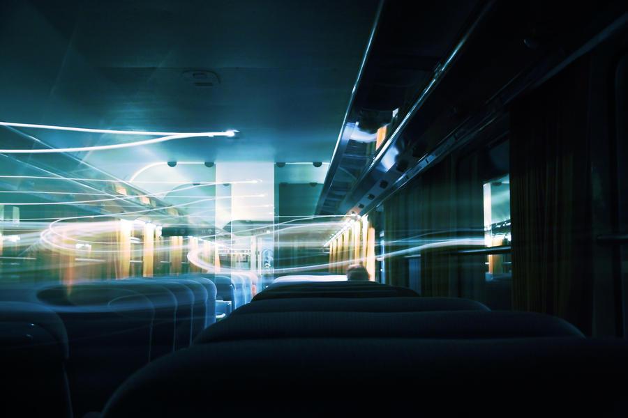 Night Train by Pierre-Lagarde