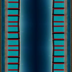 Metallik Blue Genom by Pierre-Lagarde