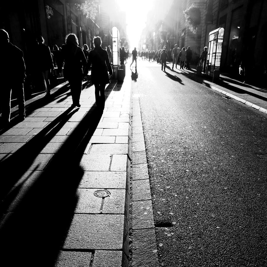 City Light Shadows by Pierre-Lagarde
