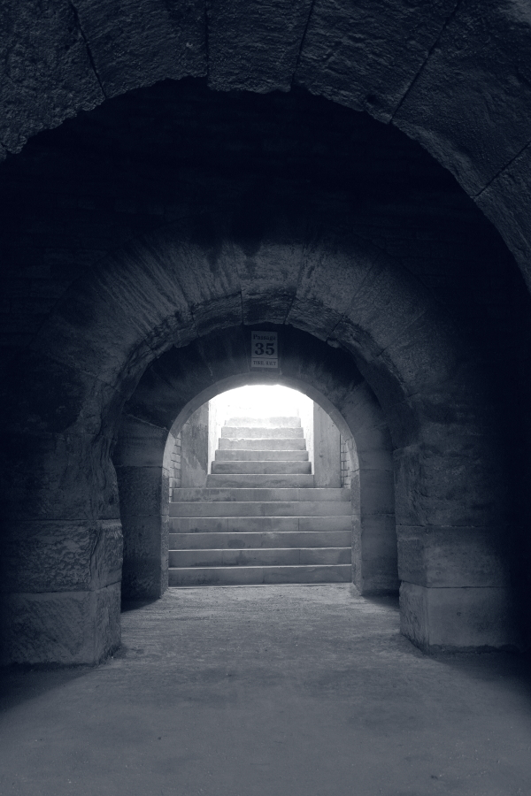 Old Stairway to Antic Hell - 2/3 by Pierre-Lagarde