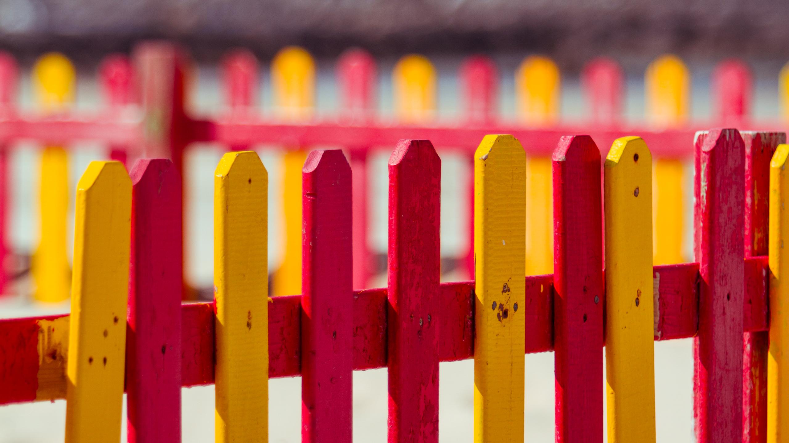 Fence Wallpaper by Pierre-Lagarde