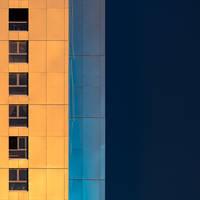 Metallic Sunset by Pierre-Lagarde