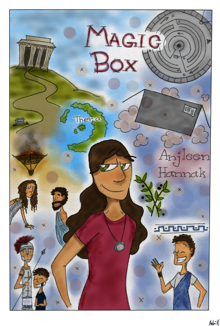Magic Box - Cover page by Nutellamonster