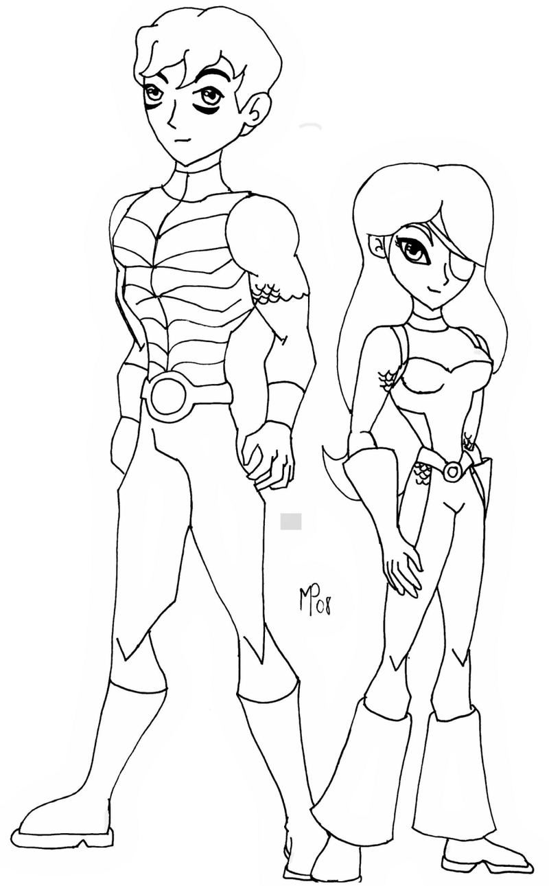 Teen Titans- Jericho n Ravager by UltimeciaFFB on DeviantArt