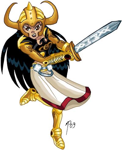 Titan Valkyries-Shining Knight by UltimeciaFFB