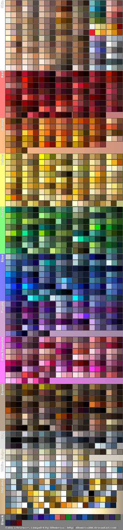Color References 5 by UltimeciaFFB