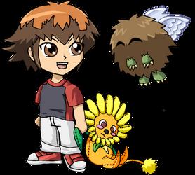 Yu-Gi-Oh! GX - Kid Jaden-Judai by UltimeciaFFB