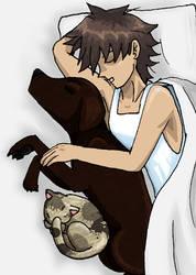Ask Konami-Kun : Pets by UltimeciaFFB