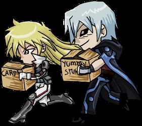 Ask Konami-Kun : Have you seem my underwear? by UltimeciaFFB