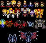 Sprites - Final Fantasy VIII