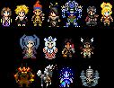 Sprites - Final Fantasy X