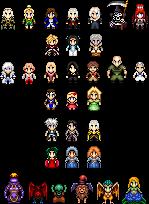 Sprites - Castlevania series by UltimeciaFFB