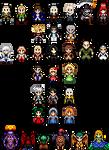 Sprites - Castlevania series
