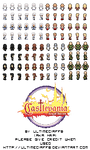 Sprite Sheet - Castlevania AoS