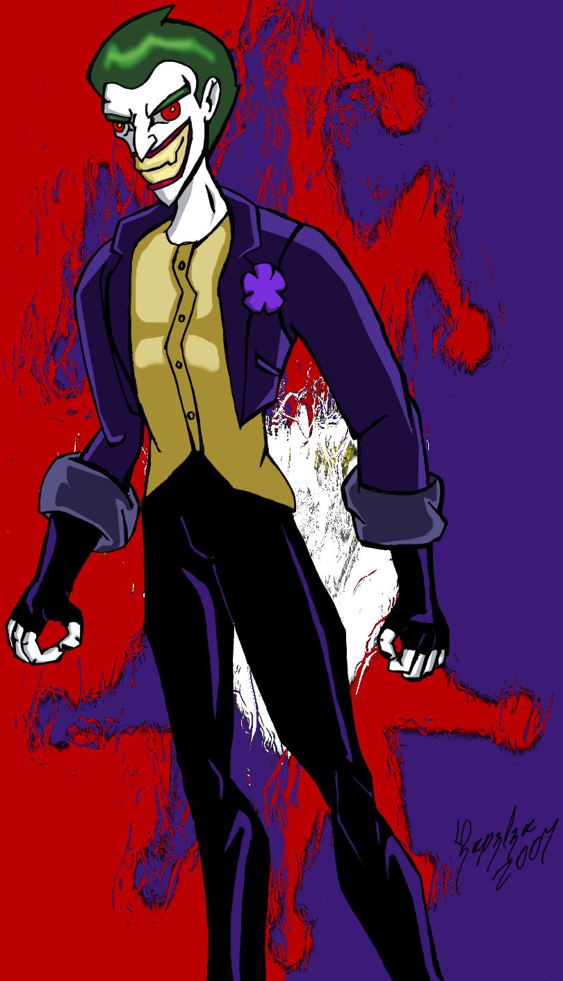 The Batman - The Joker - Color by UltimeciaFFB on deviantART