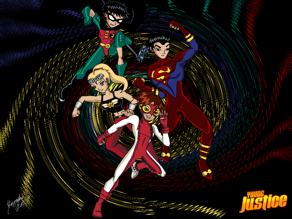 tt young justice wallpaper by ultimeciaffb on deviantart