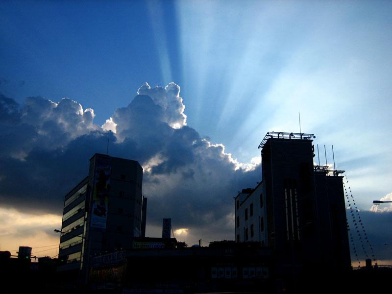 Sky Curtain by hooni