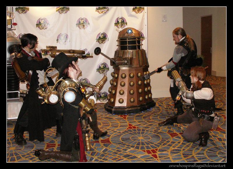 Dalek Hunting 101 by ljvaughn
