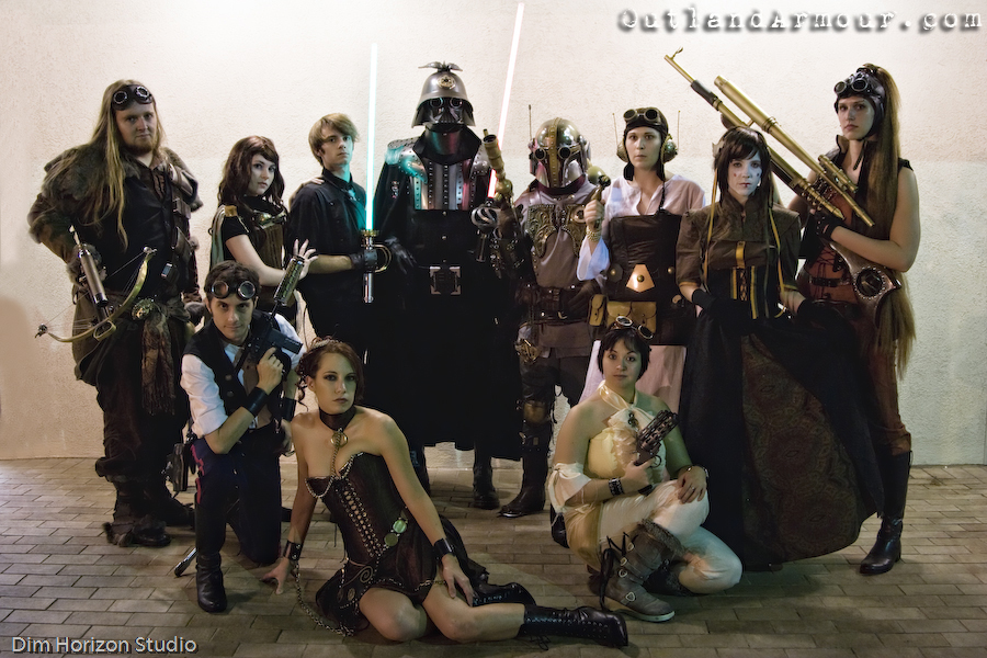 Steampunk Star Wars Group Shot by ljvaughn