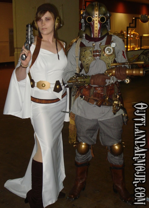 Steampunk Princess Leia v3.0 by ljvaughn