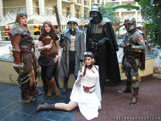 Steampunk Star Wars: SPWF by ljvaughn