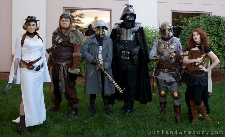 Steampunk Star Wars: SPWF II by ljvaughn
