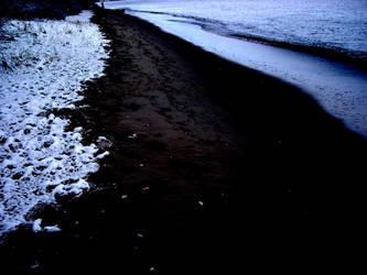 Beach winter. by NinjaNini