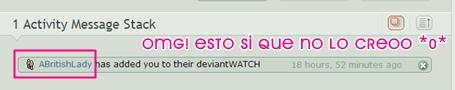OMG! Me dio Watch!