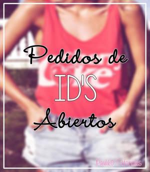 Pedidos de ID's Abiertos