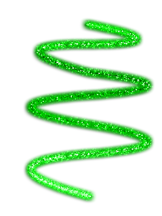 Green Glitter Swirl PNG by DaShawtyGaga on DeviantArt