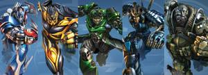 Age Of Extinction Autobots