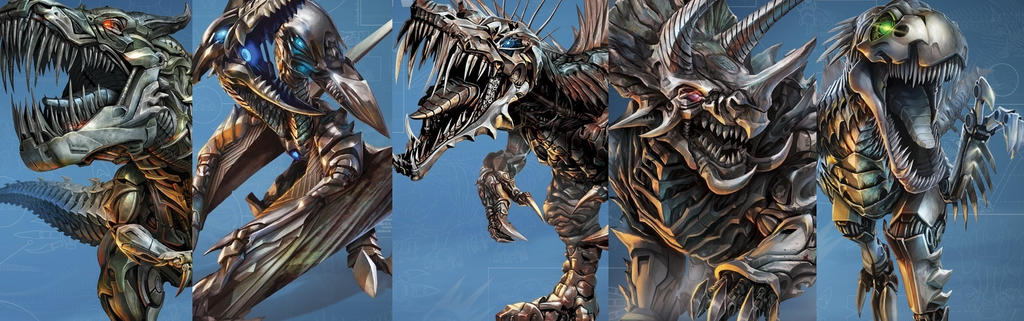 Age Of Extinction Dinobots by Transformersguy1000 on ...
