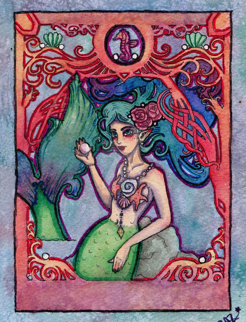 Coral The Mermaid