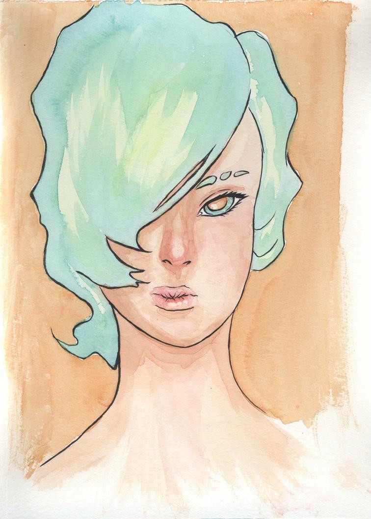 Girl 2 by Tercenya