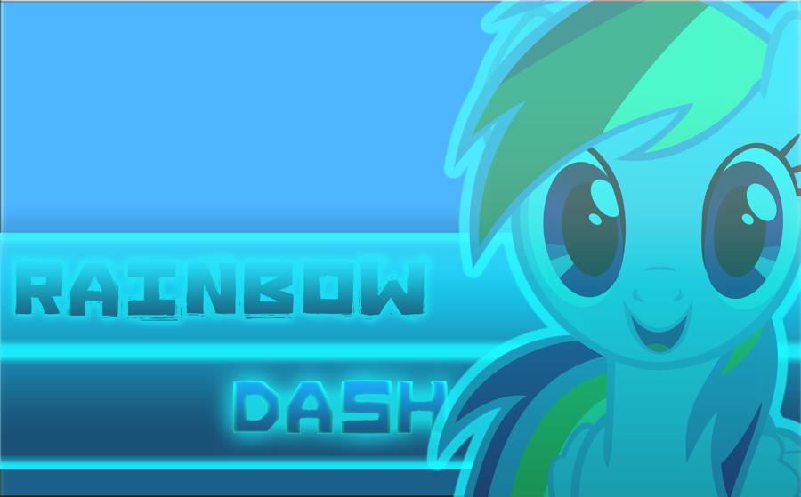 Rainbow Dash Wallpaper (Wallpaper #2 Alt) by Lightslash