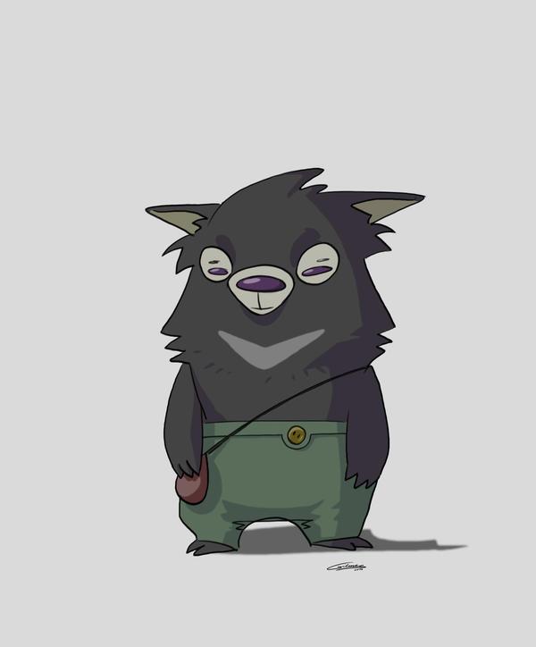 Slothbear concept by Gilmec