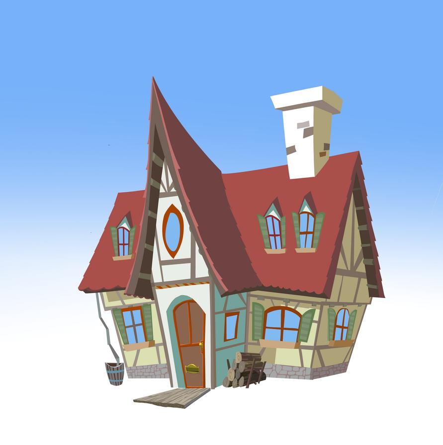 Grandmas House Concept by Gilmec