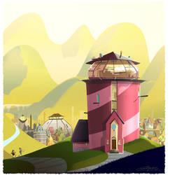 Professors Tower by Gilmec