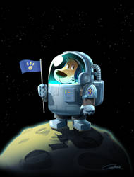 Space Comander Bello by Gilmec