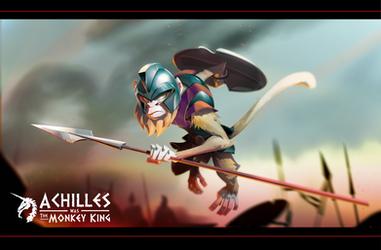 Battle Monkey Achilles by Gilmec