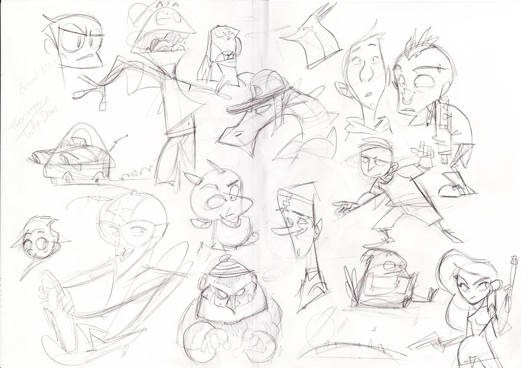 Daily doodles 24.09.14 by Gilmec