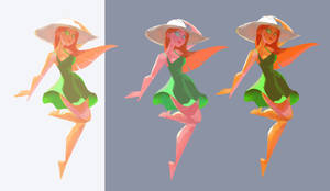 Color and Light Studies WIP 090415