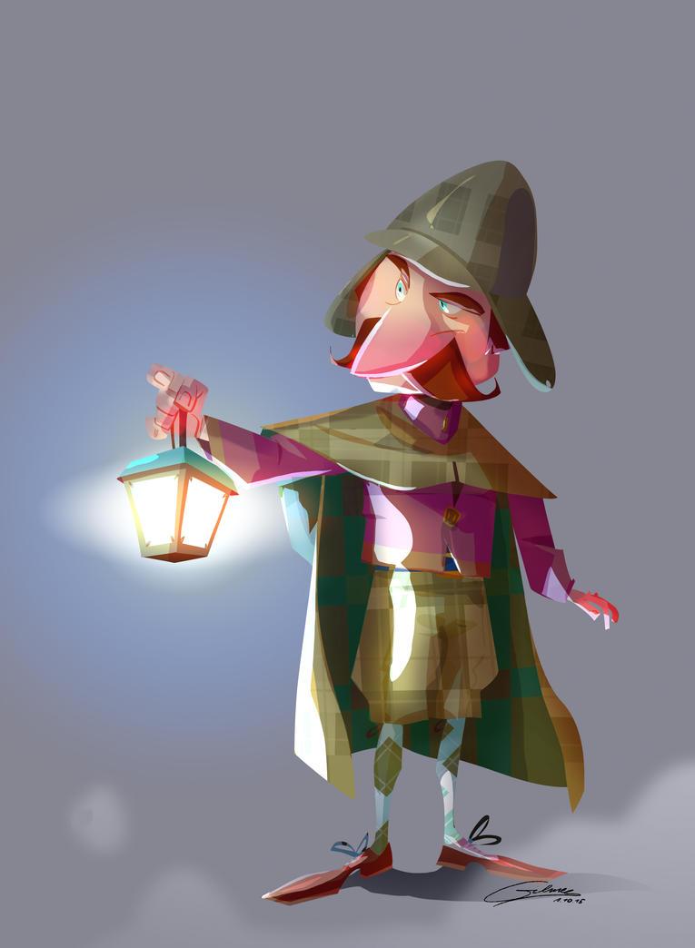 Detective by Gilmec
